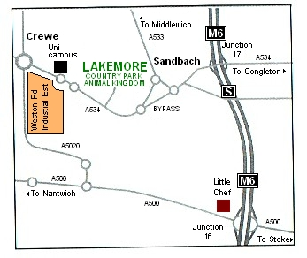 Lakemore Fisheries Location